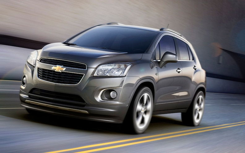 Chevrolet Announces Trax Compact SUV for World Markets