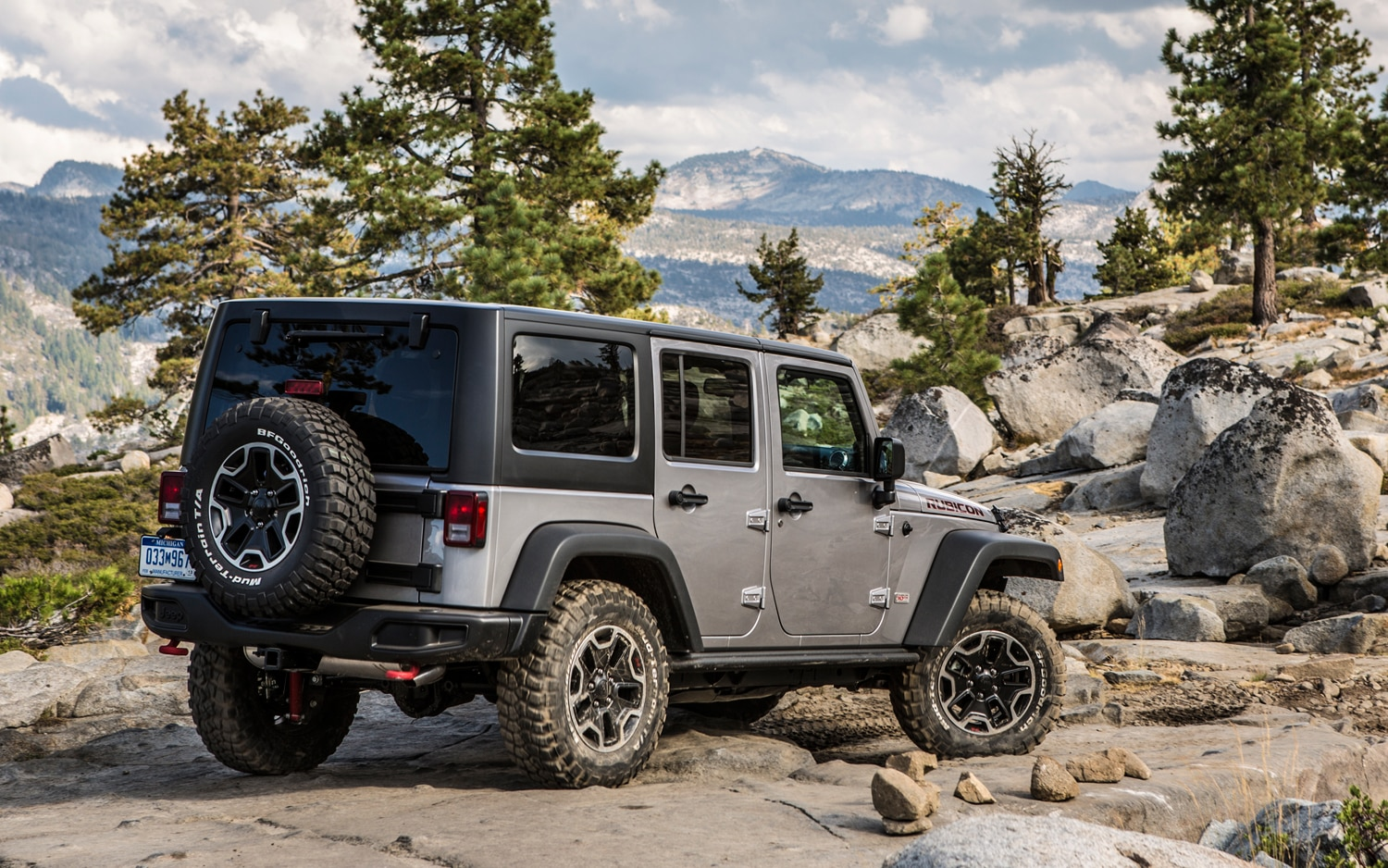 2013 Jeep Wrangler Rubicon Unlimited Rear