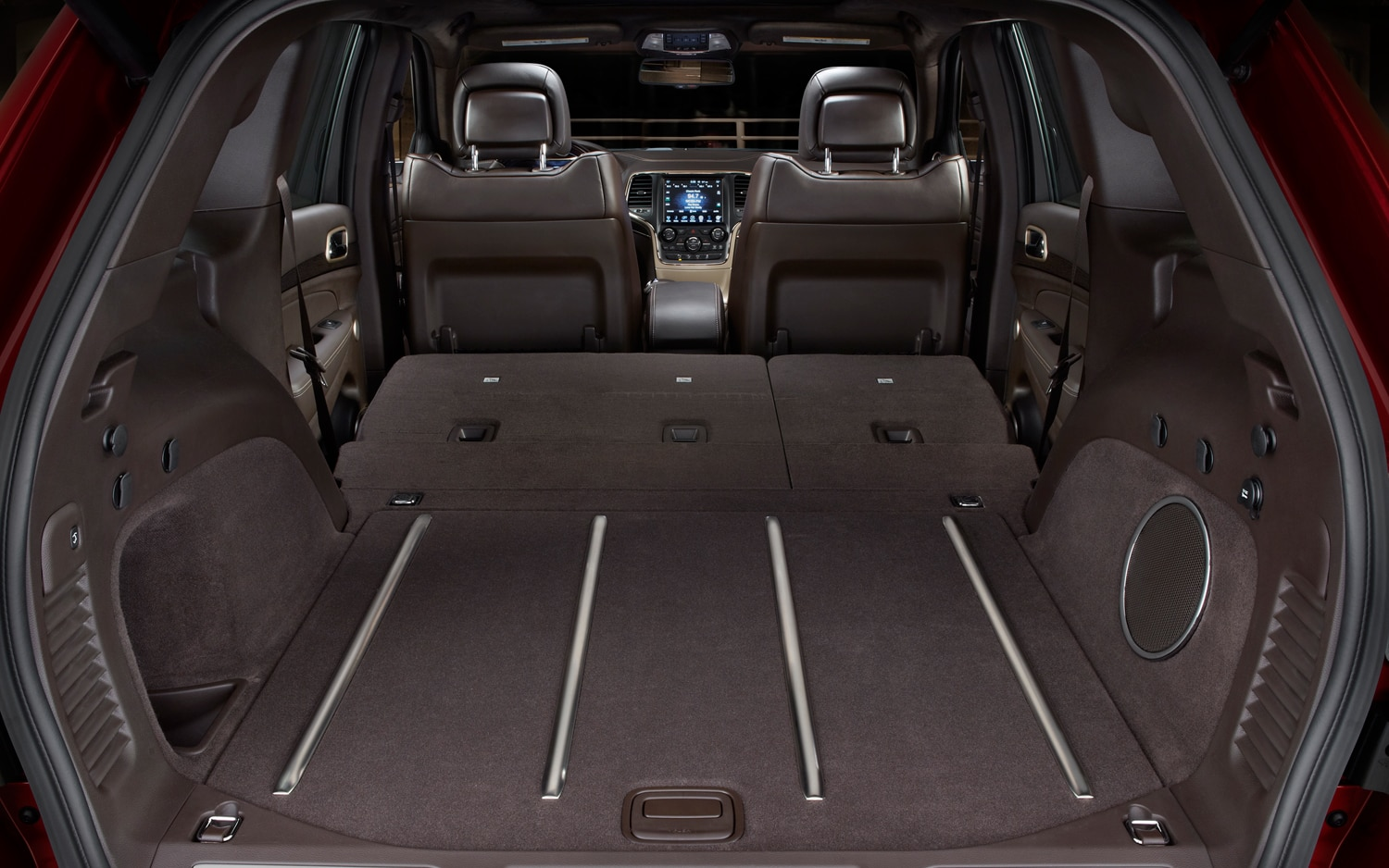 2014 Jeep Grand Cherokee Summit Rear Interior Cargo Space 2