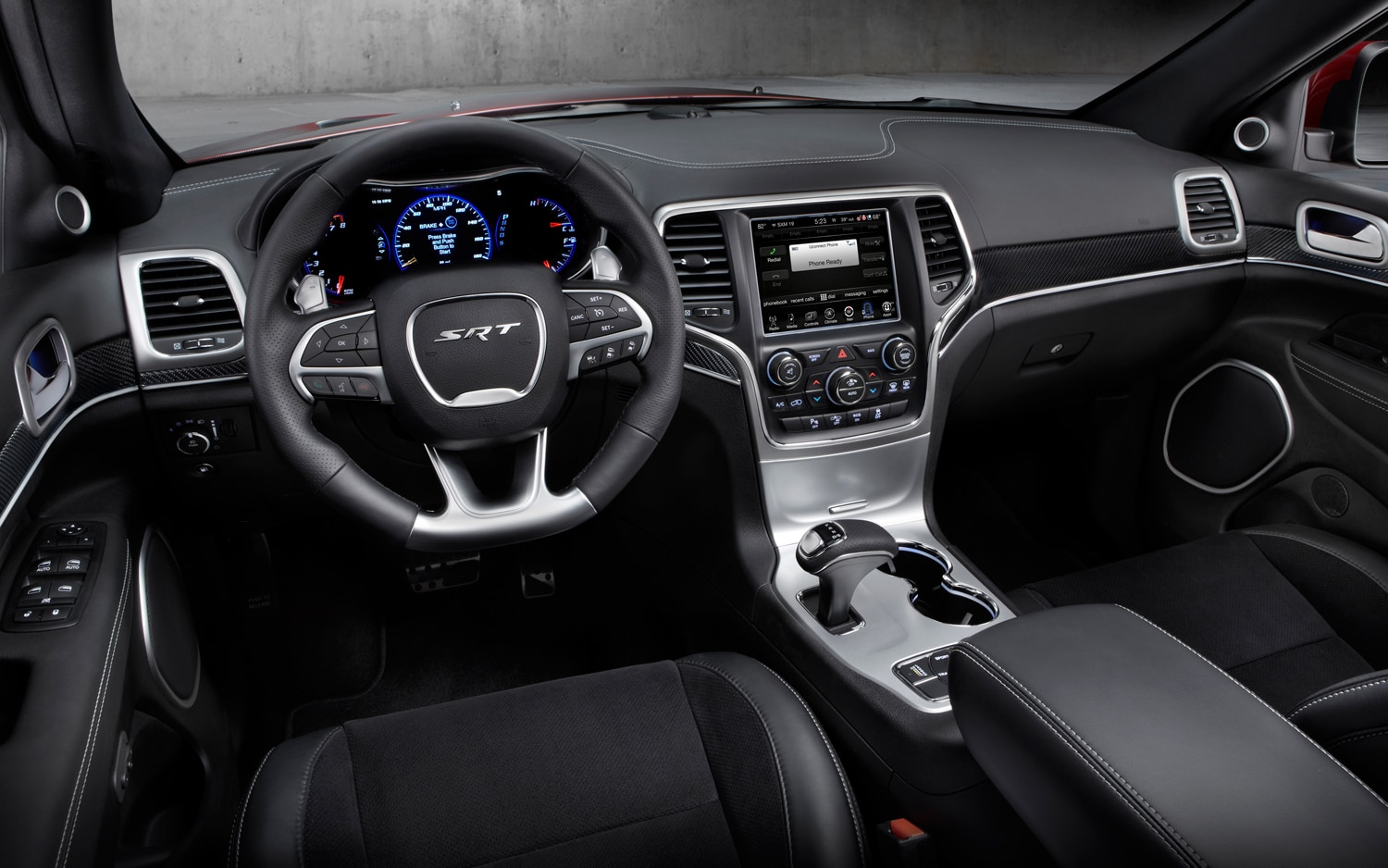 2014 Jeep Grand Cherokee SRT Dash