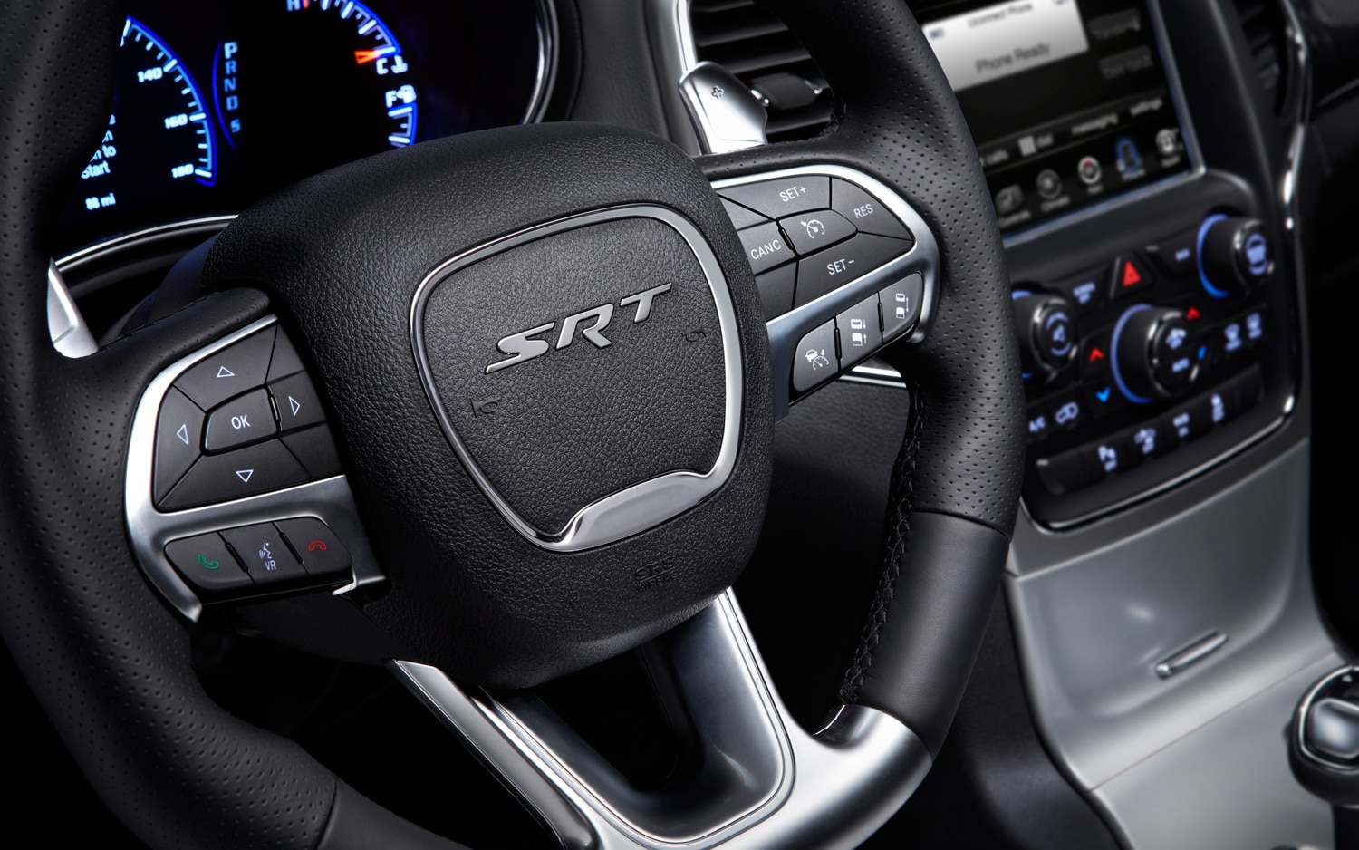 2014 Jeep Grand Cherokee SRT Steering Wheel