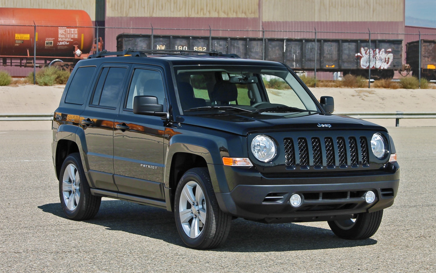 2013 Jeep Patriot Latitude 4X4 Front View