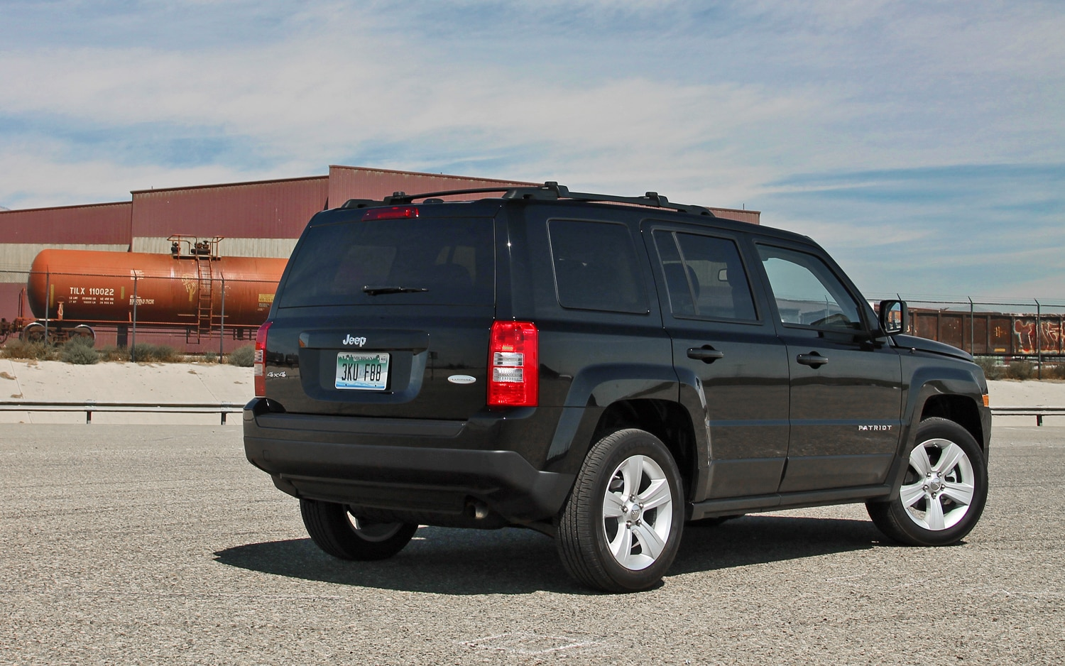 2013 Jeep Patriot Latitude 4X4 Rear View 02