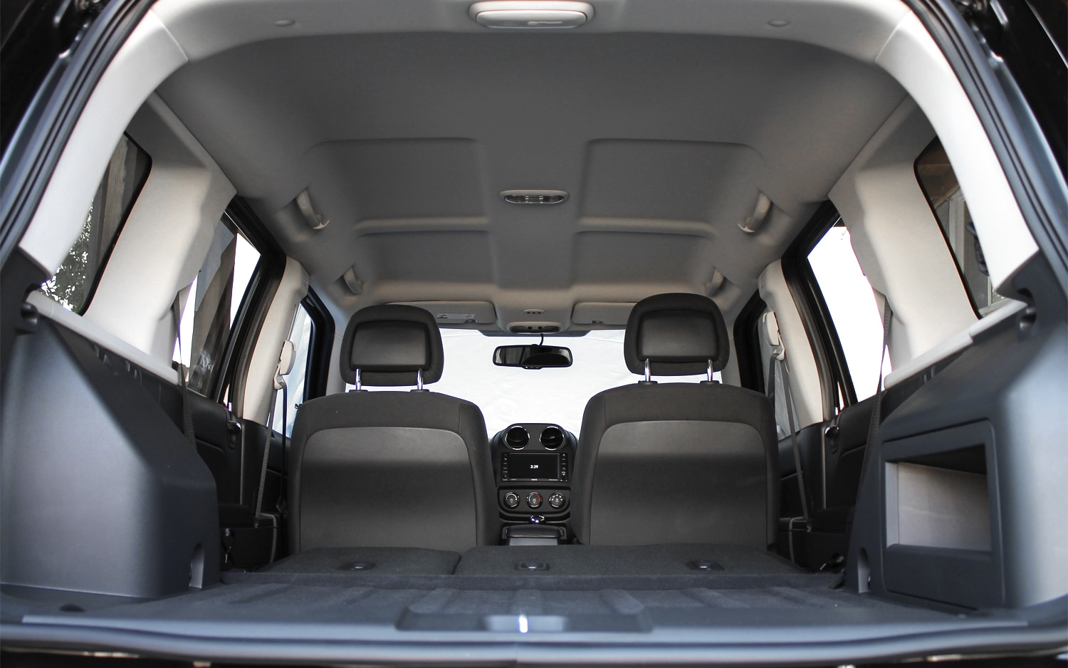 2013 Jeep Patriot Latitude 4X4 Rear Interior Cargo Space 04