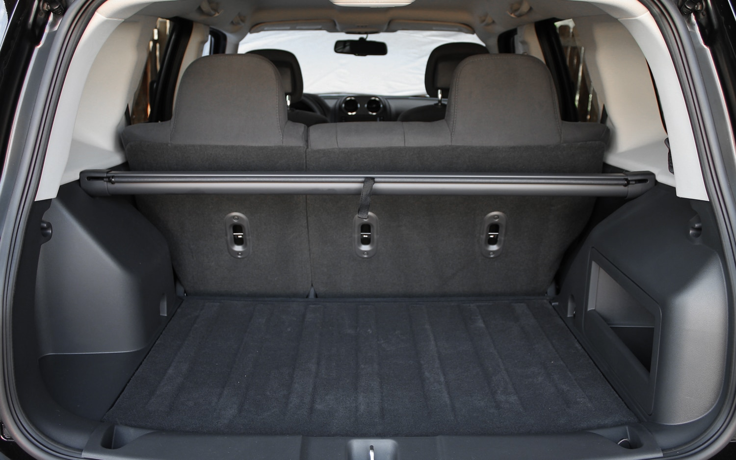 2013 Jeep Patriot Latitude 4X4 Rear Interior Cargo Space