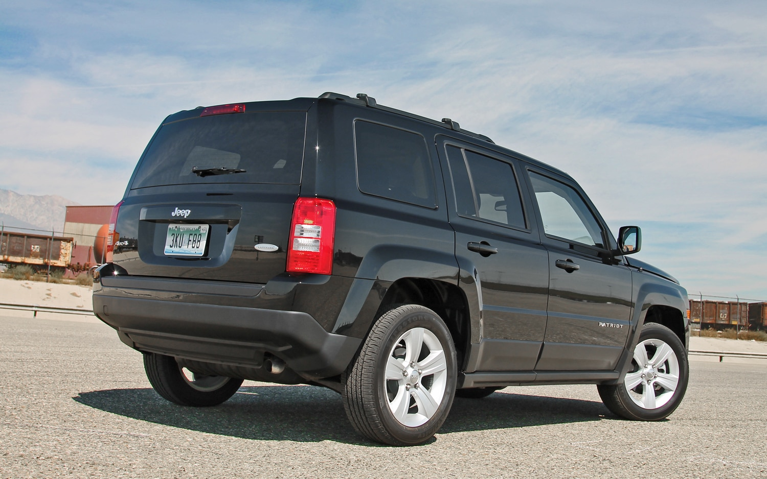 2013 Jeep Patriot Latitude 4X4 Rear View 03