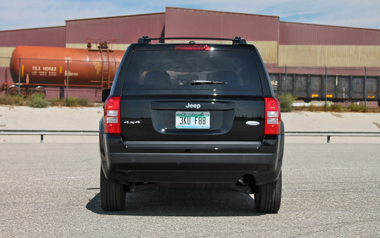 2013 Jeep Patriot Latitude 4X4 Rear View 04