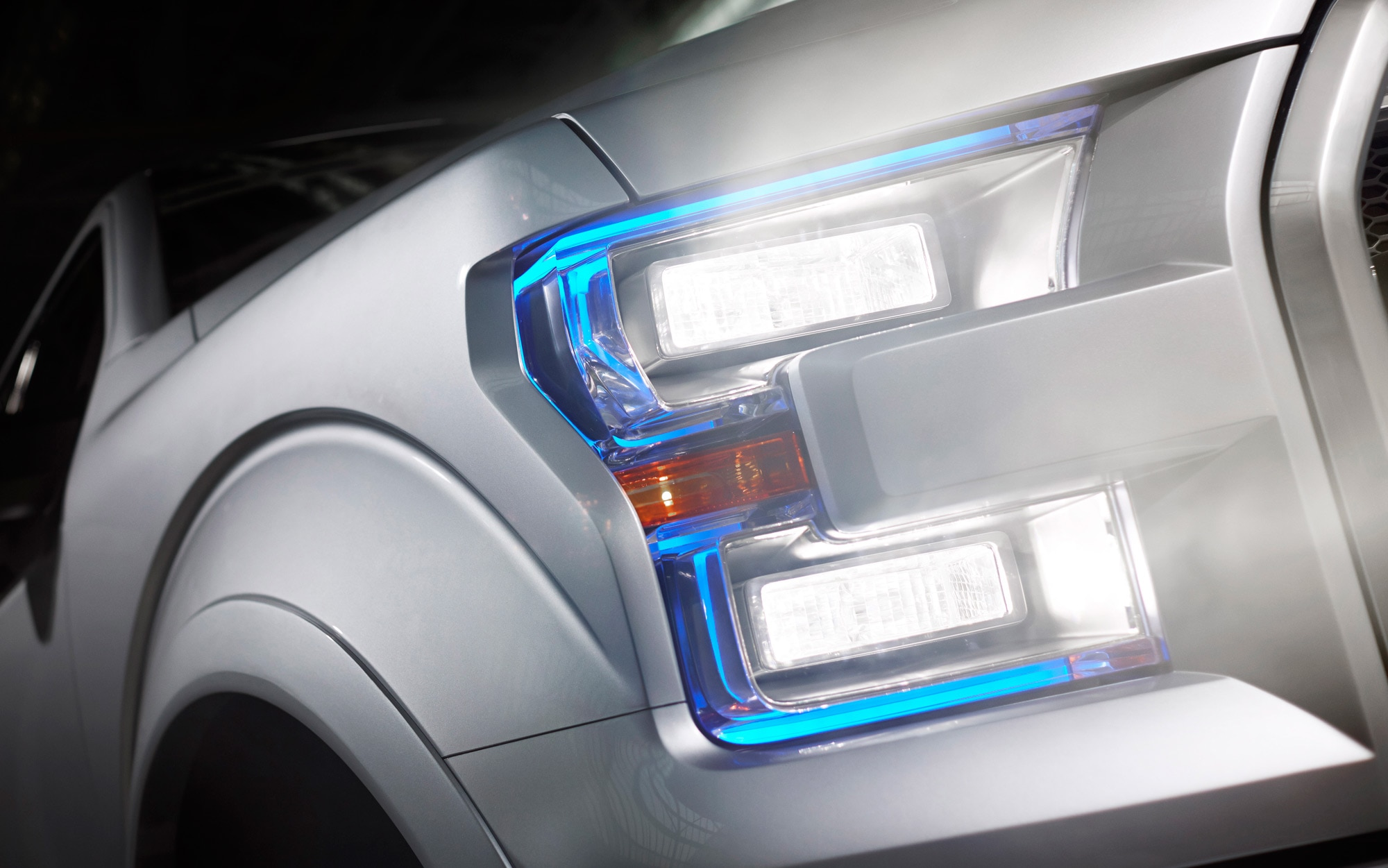 Ford Atlas Concept Headlight