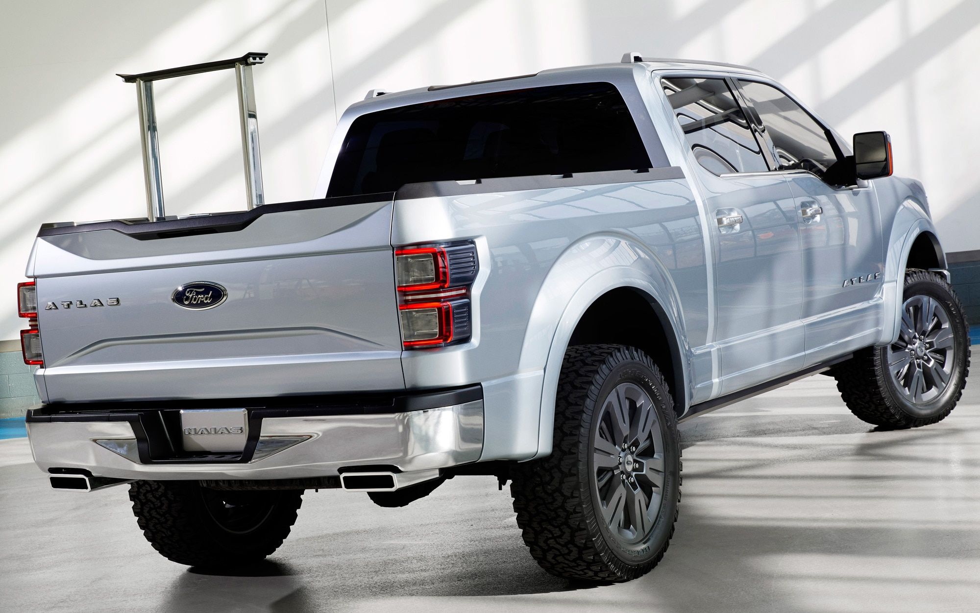 Ford Atlas Concept Rear Three Quarter 3