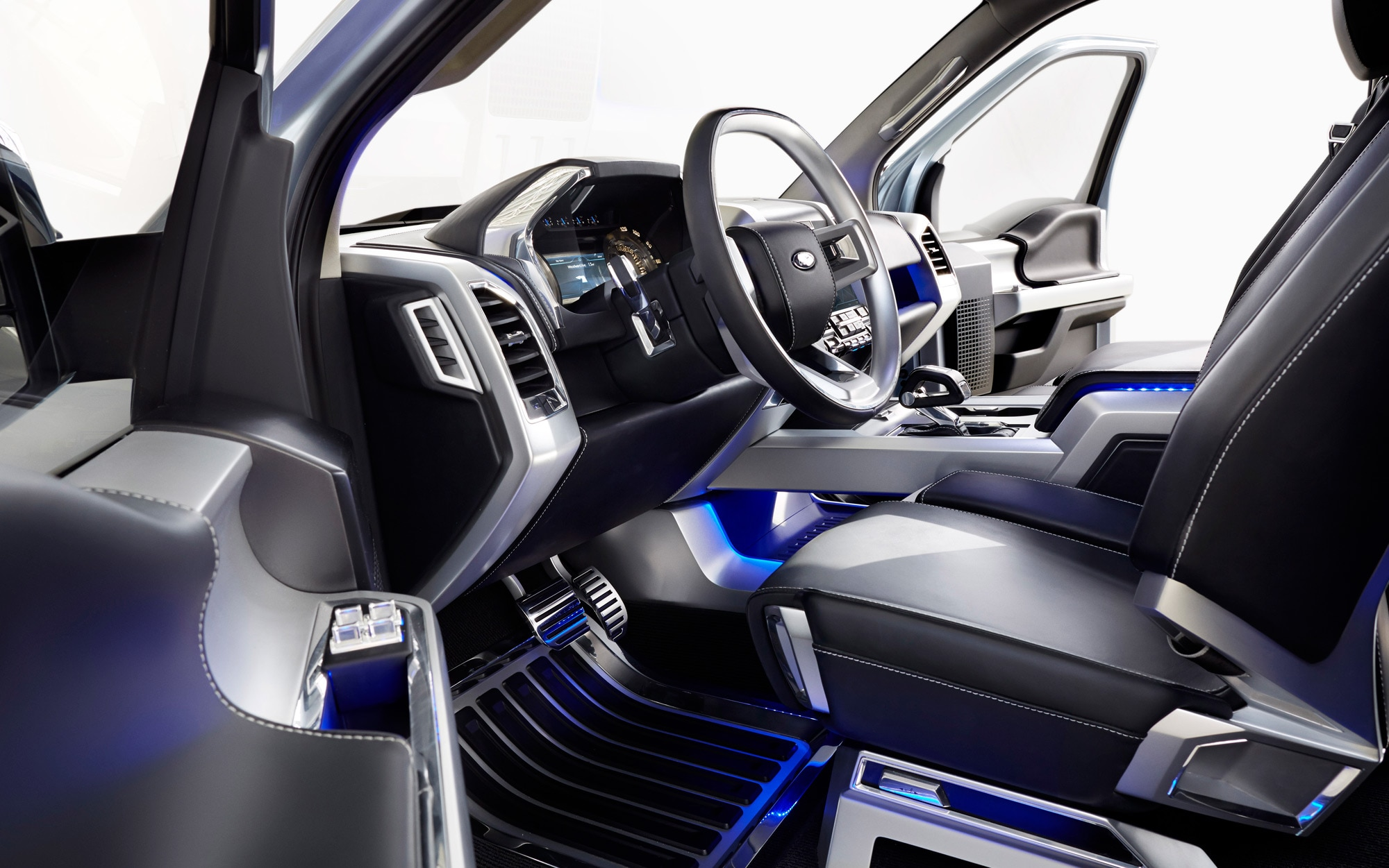 Ford Atlas Concept Interior 1