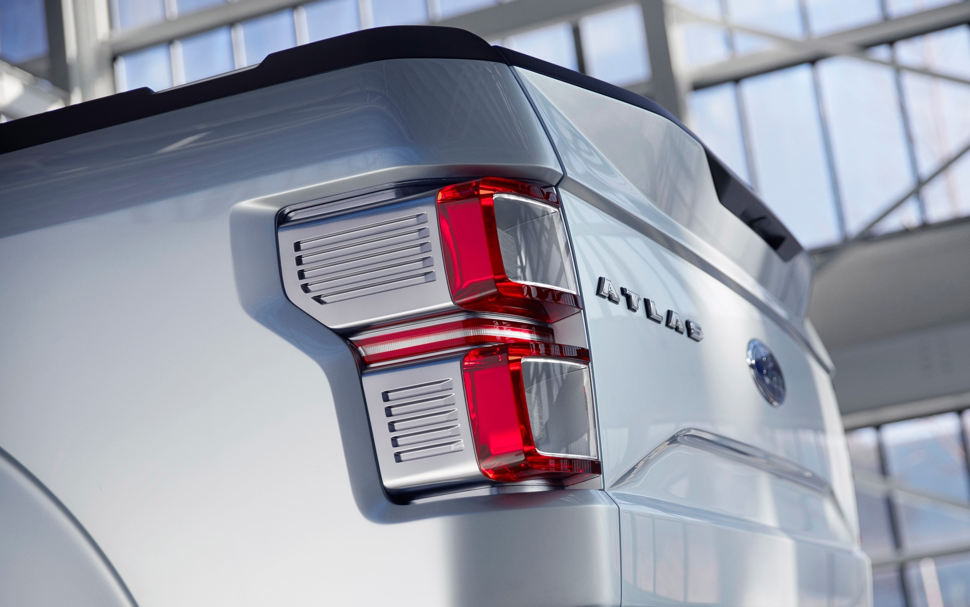 Ford Atlas Concept Taillight 2