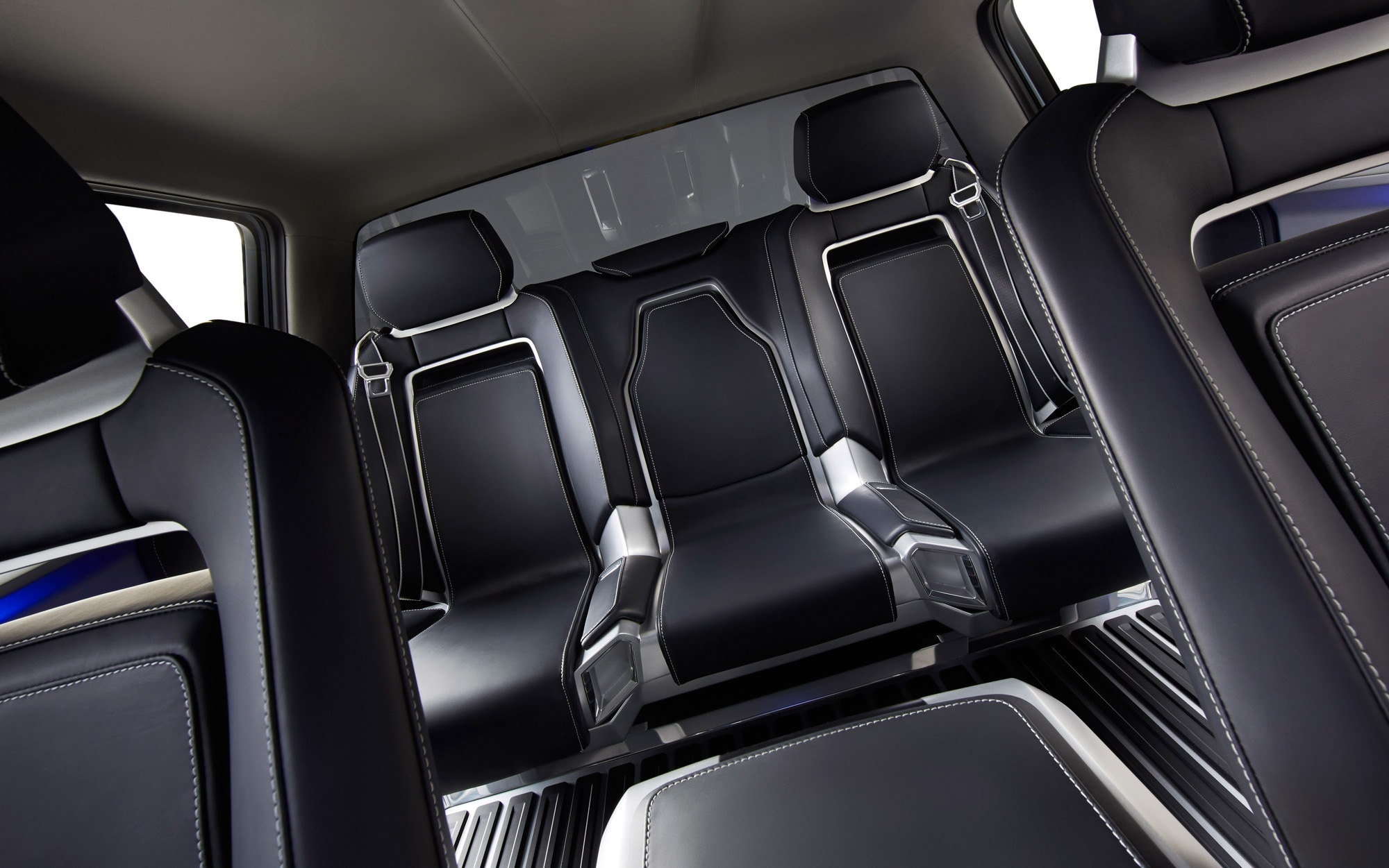 Ford Atlas Concept Rear Seats 1