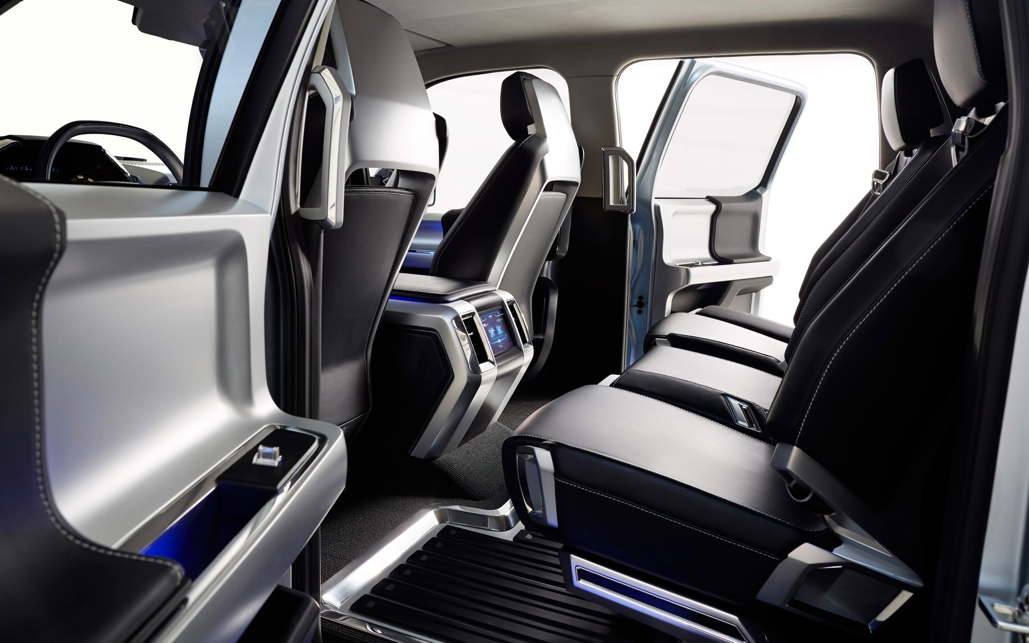 Ford Atlas Concept Rear Seats 2