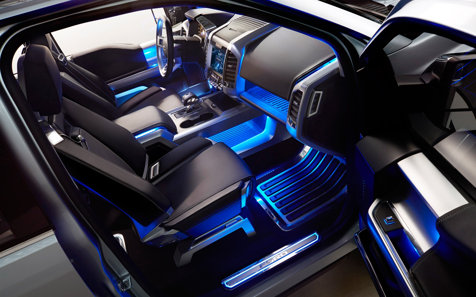 Ford Atlas Concept Interior 4