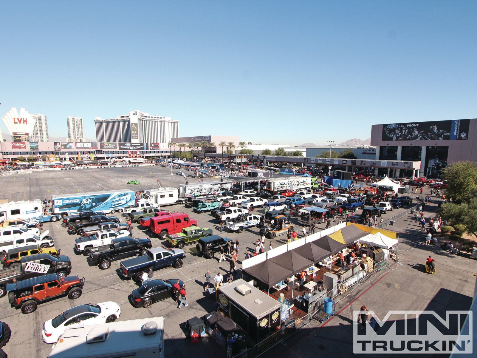 sema Show 2012 mini Trucking Corral