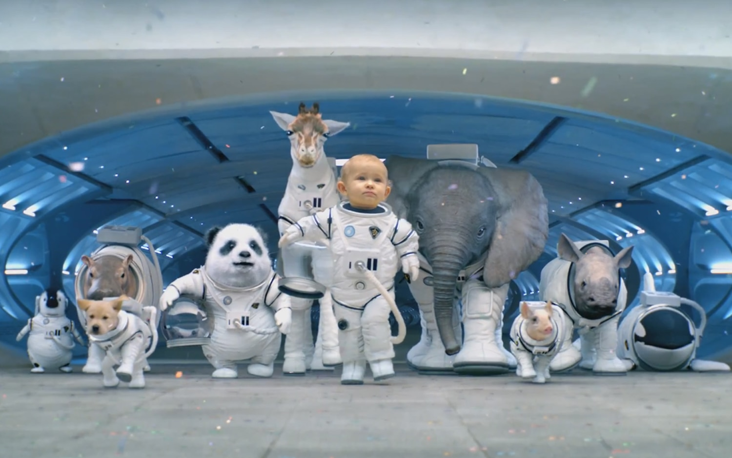 Kia Super Bowl Ad Babies Ready For Lift Off