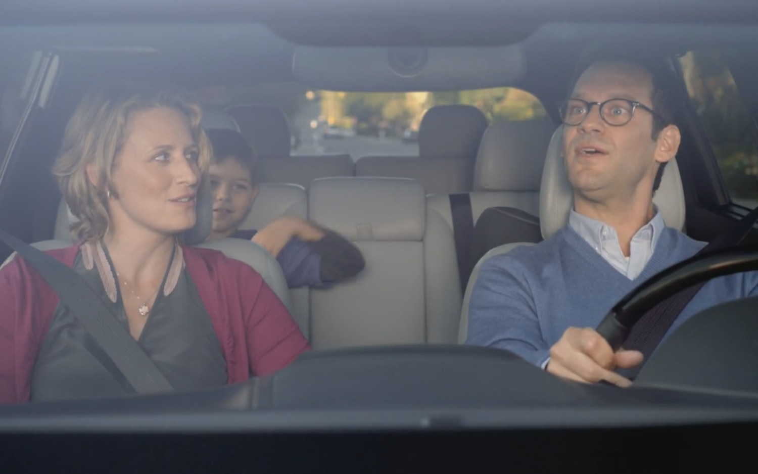 Kia Super Bowl Ad Family In Car
