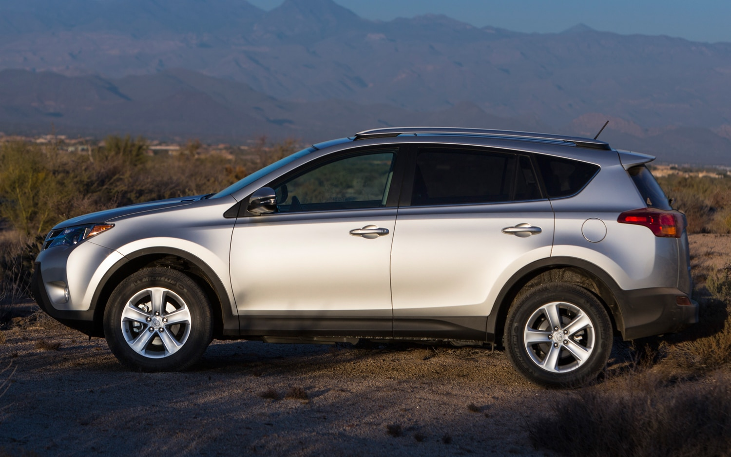 2013 Toyota RAV4 XLE Side View