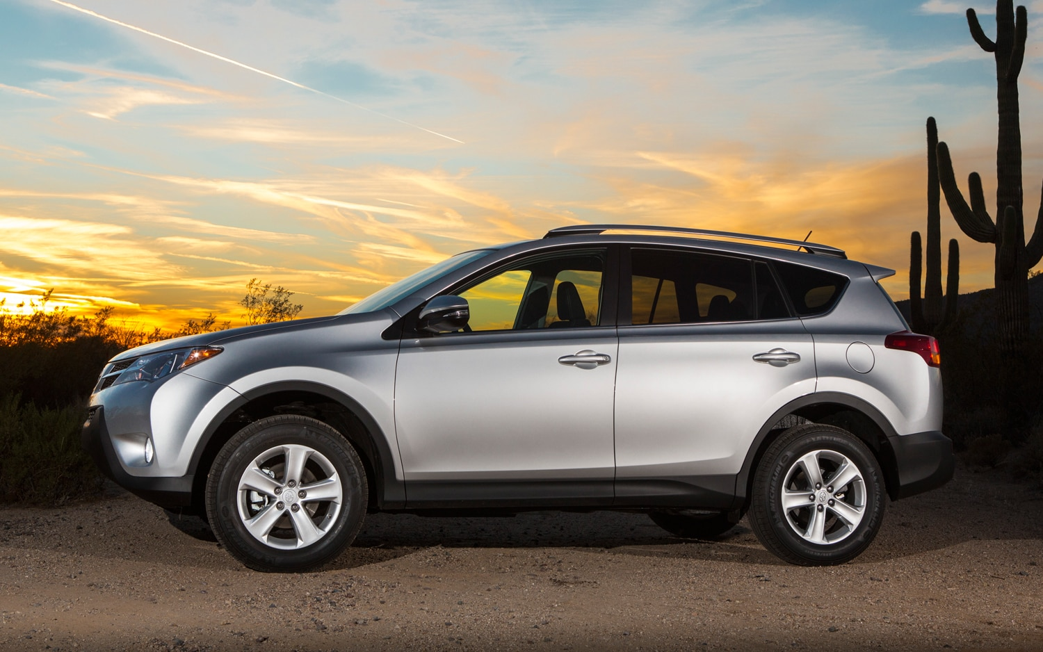2013 Toyota RAV4 XLE Side View 03