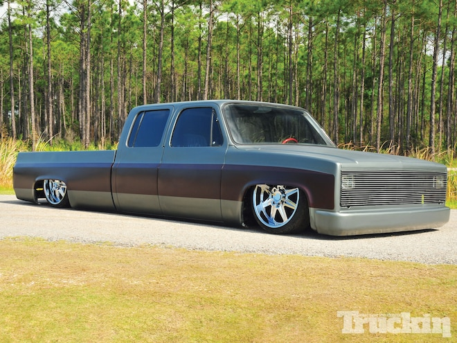 1989 Chevy C30 Crew Cab - Busted Knuckles - Truckin Magazine