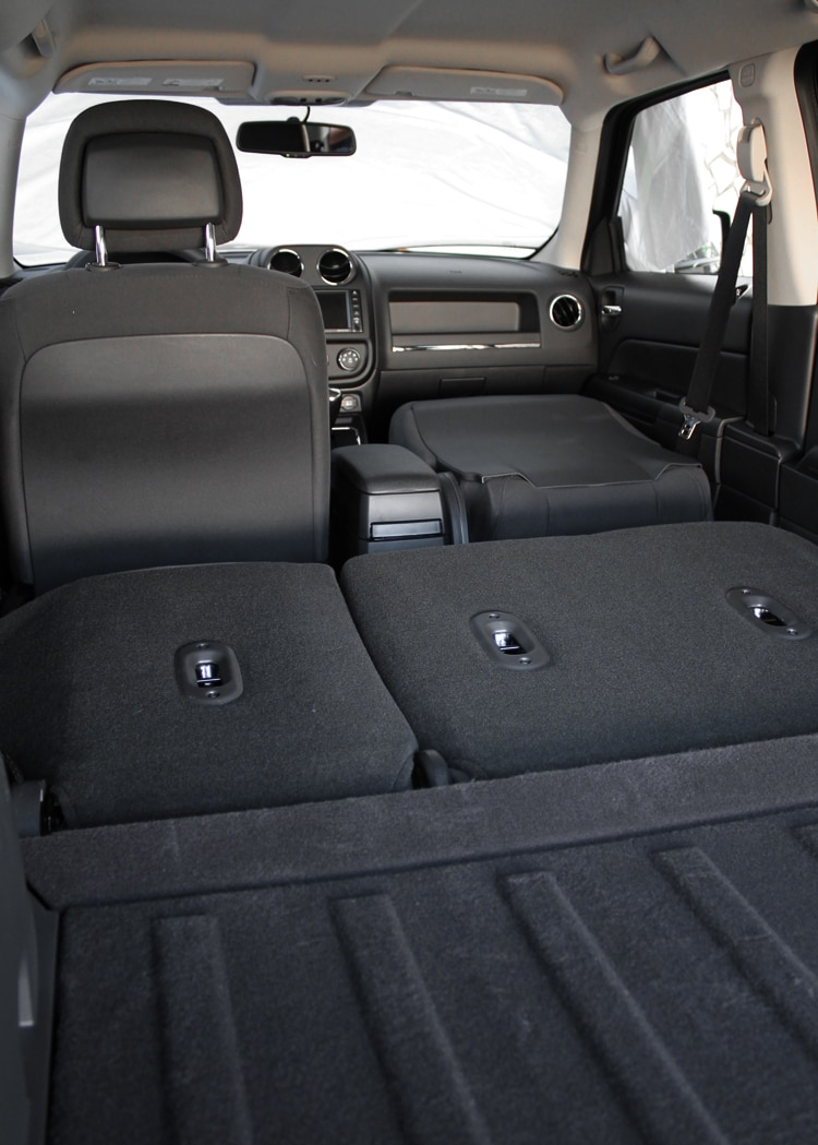 2013 Jeep Patriot Latitude 4X4 Rear Interior Cargo Space 06