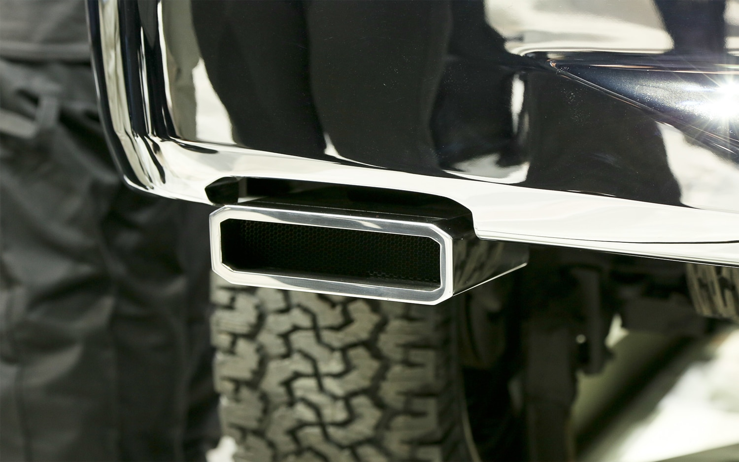 Ford Atlas Concept Exhaust Tip