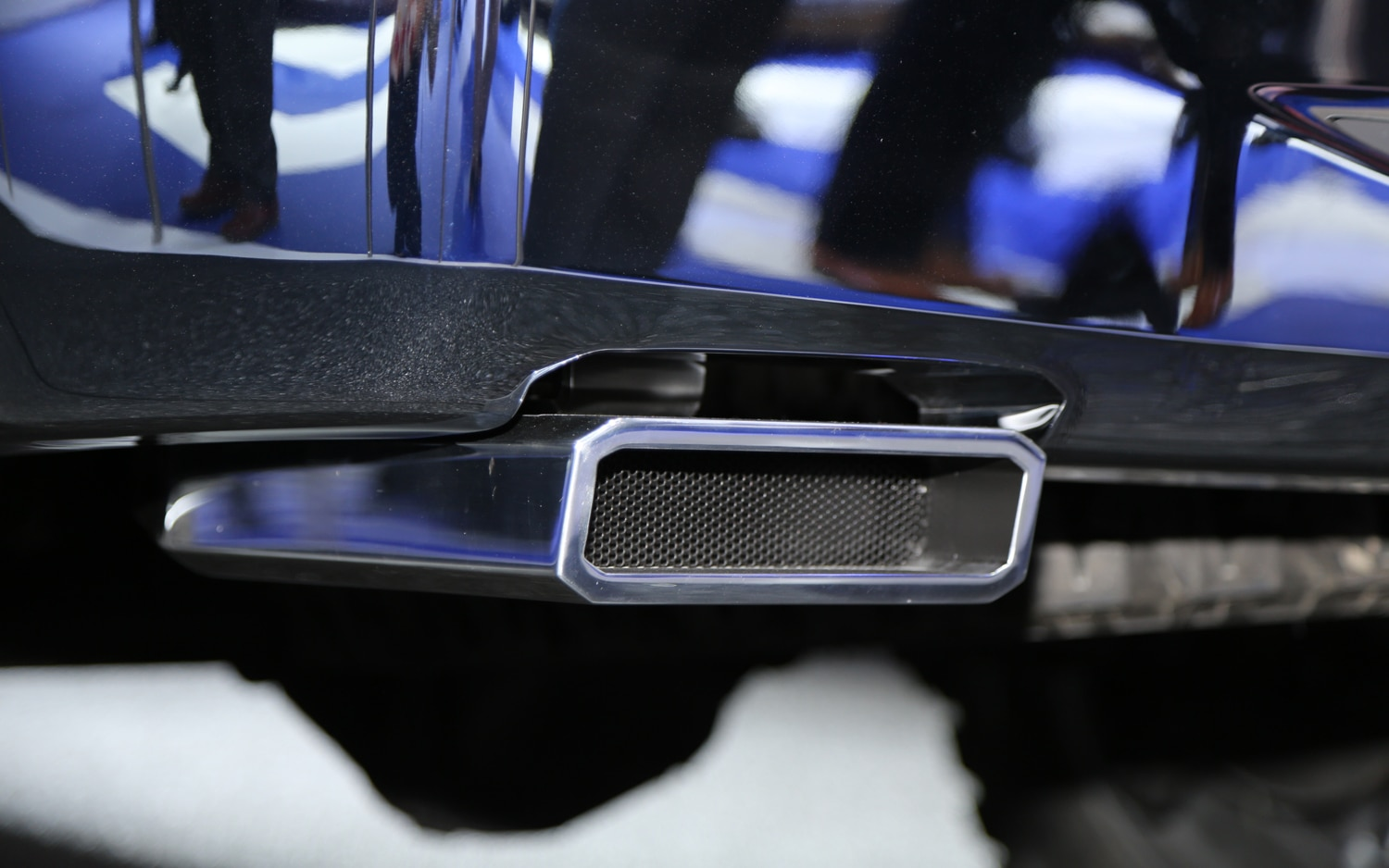 Ford Atlas Concept Exhaust Pipe