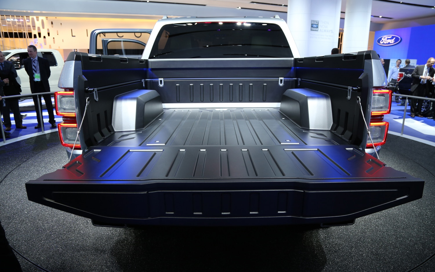 Ford Atlas Concept Rear Truck Bed