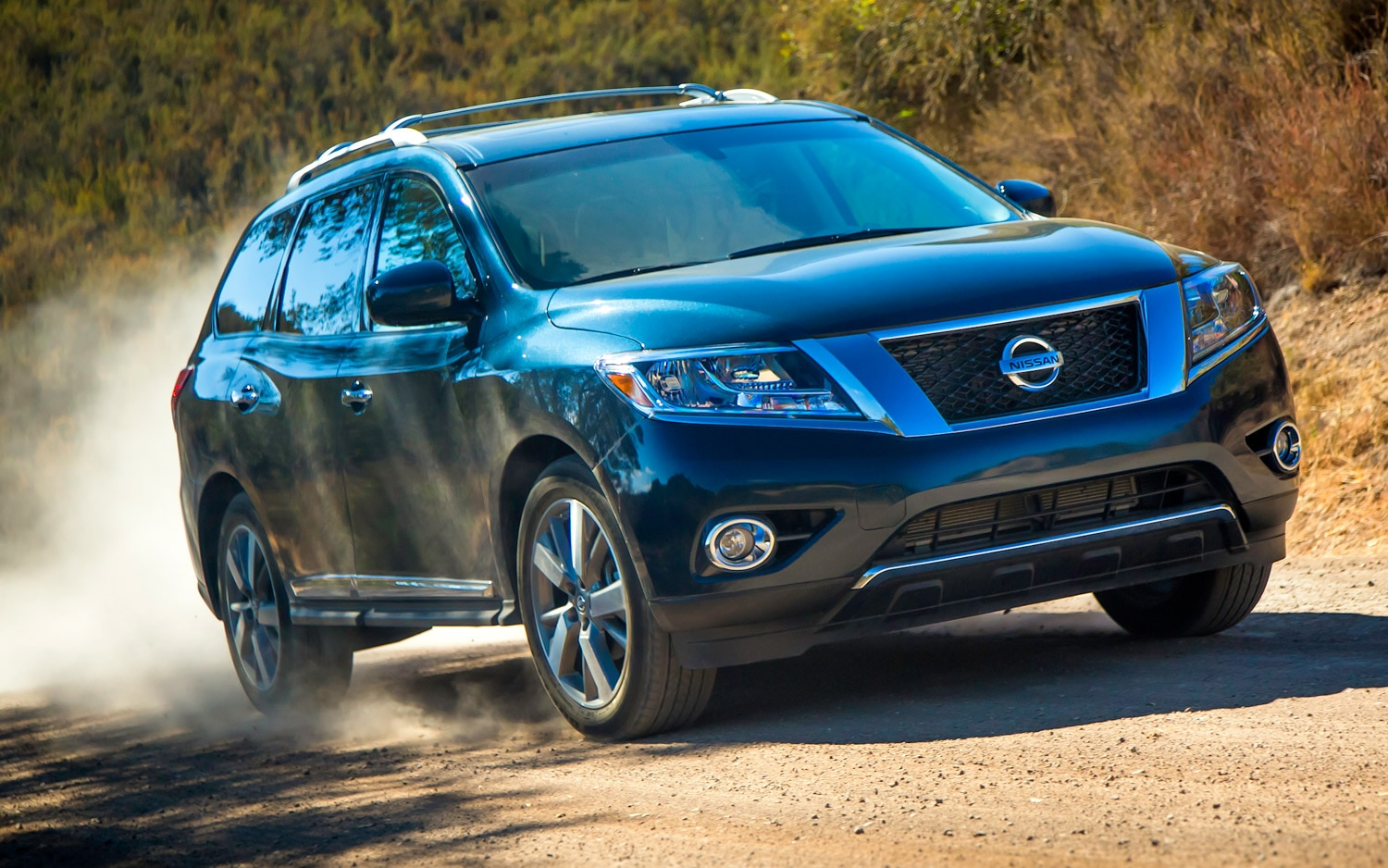 2013 Nissan Pathfinder Blue In Motion