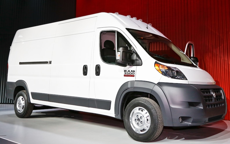 2014 Ram ProMaster First Look