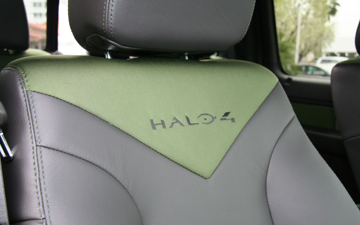 2013 Ford F150 Raptor Halo 4 Upholstery Detail