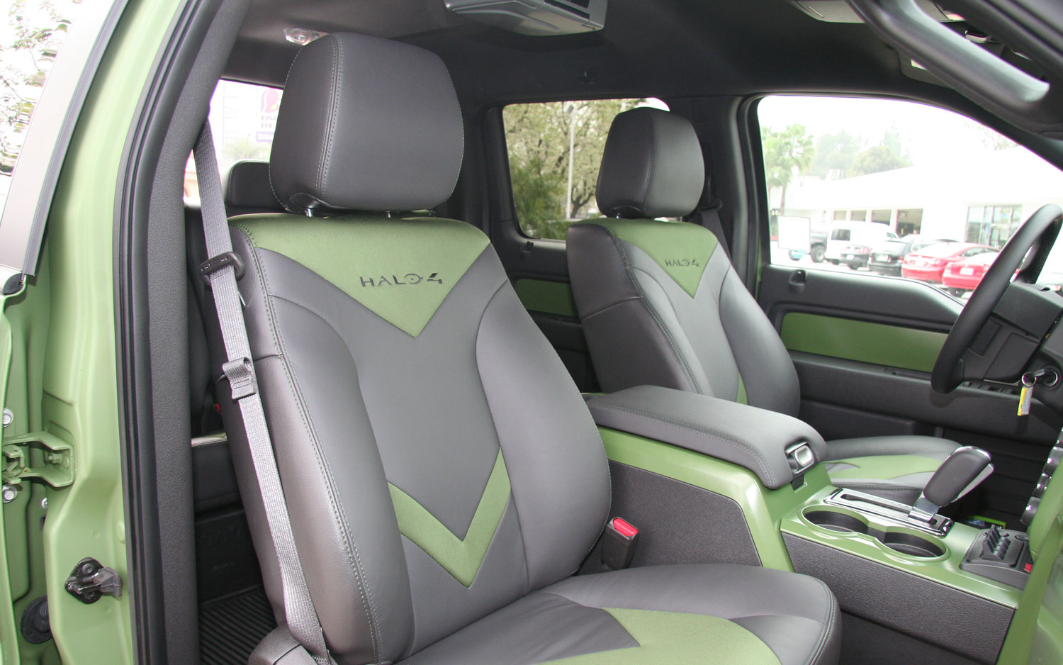2013 Ford F150 Raptor Halo 4 Interior