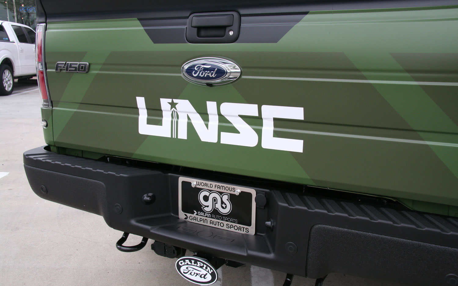 2013 Ford F150 Raptor Halo 4 Tailgate