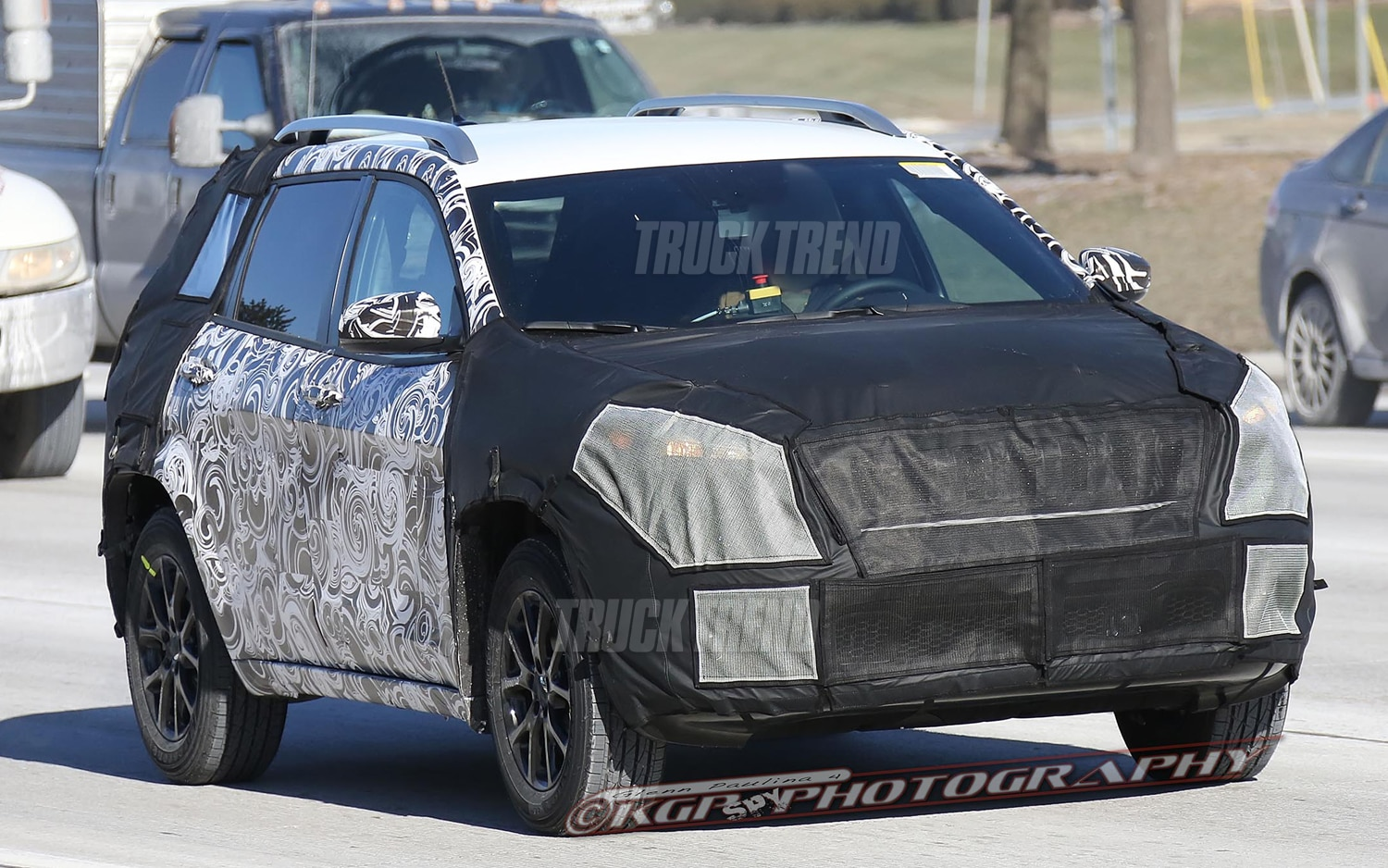 Spied! 2014 Jeep Liberty - Inside and Out