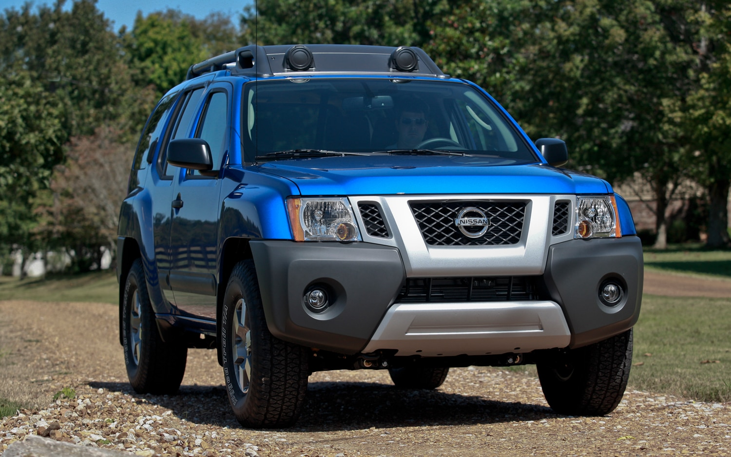2013 Nissan Xterra Front Three Quarters View