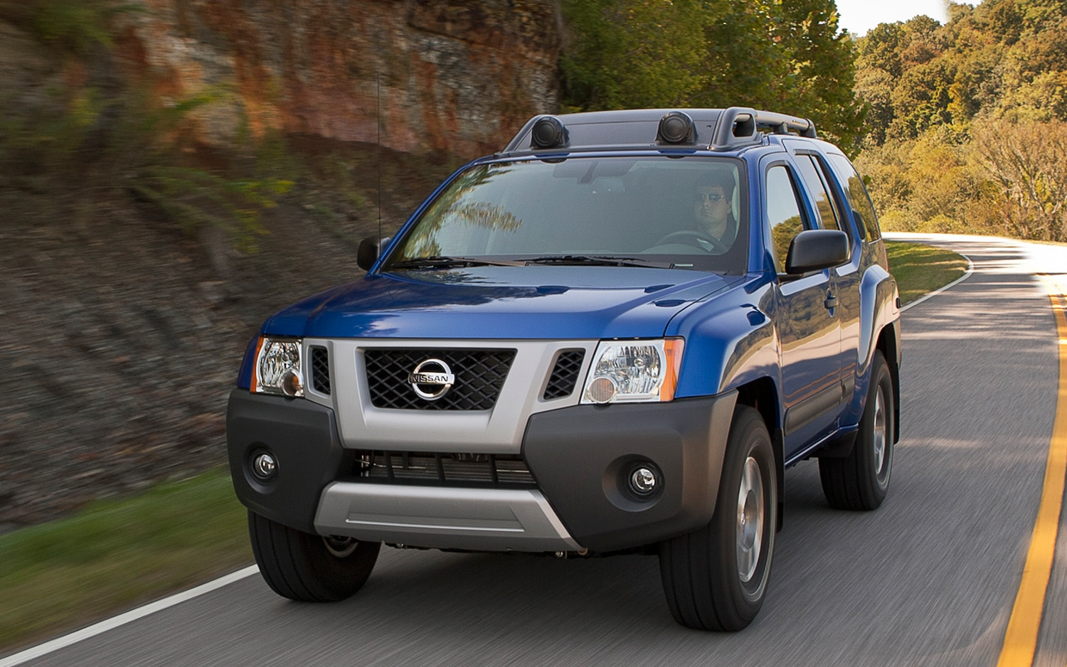 2013 Nissan Xterra Front Three Quarters