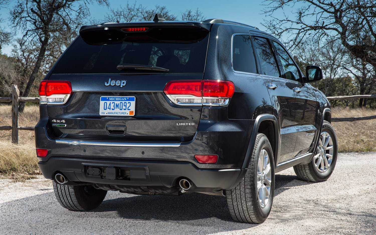 2014 Jeep Grand Cherokee Diesel Rear View