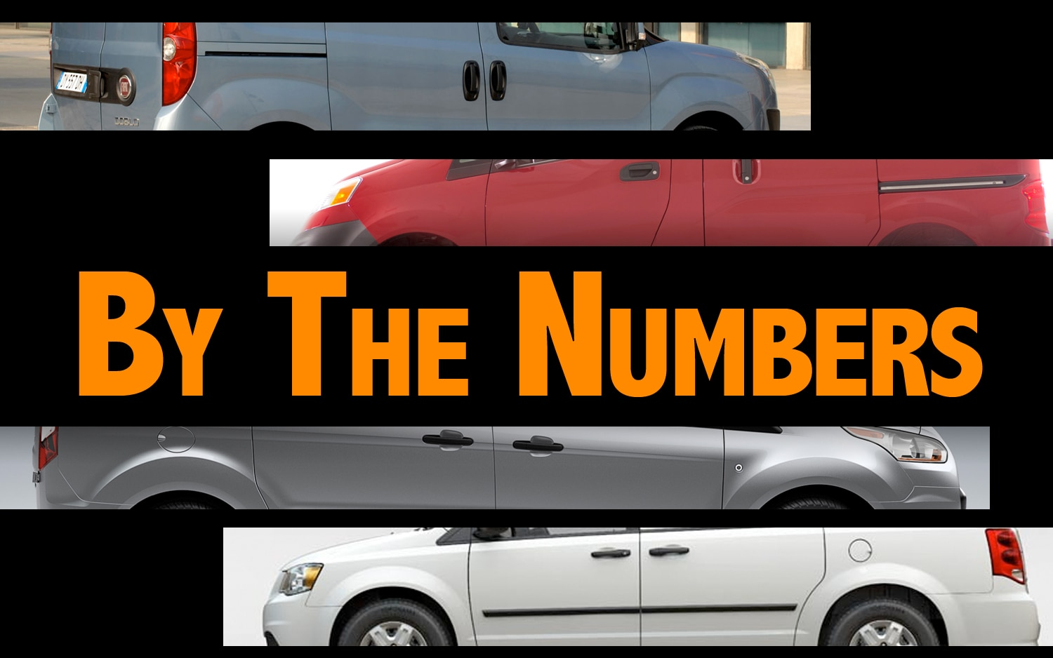 By The Numbers: Ford Transit Connect, Ram C/V, Nissan NV200, Fiat Doblo