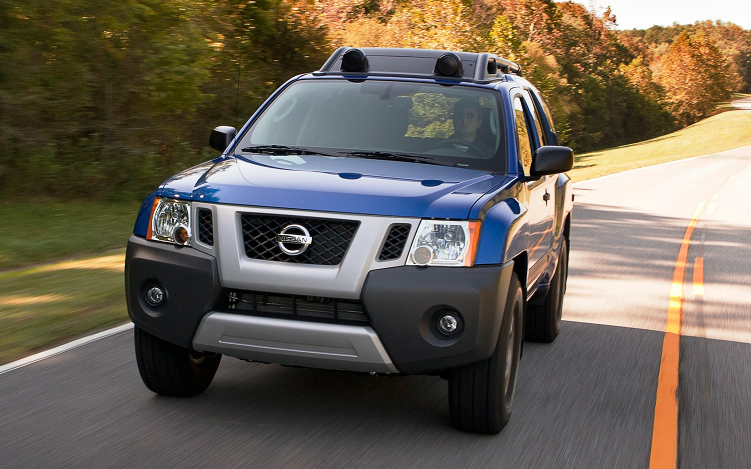 2013 Nissan Xterra Front Three Quarters In Motion