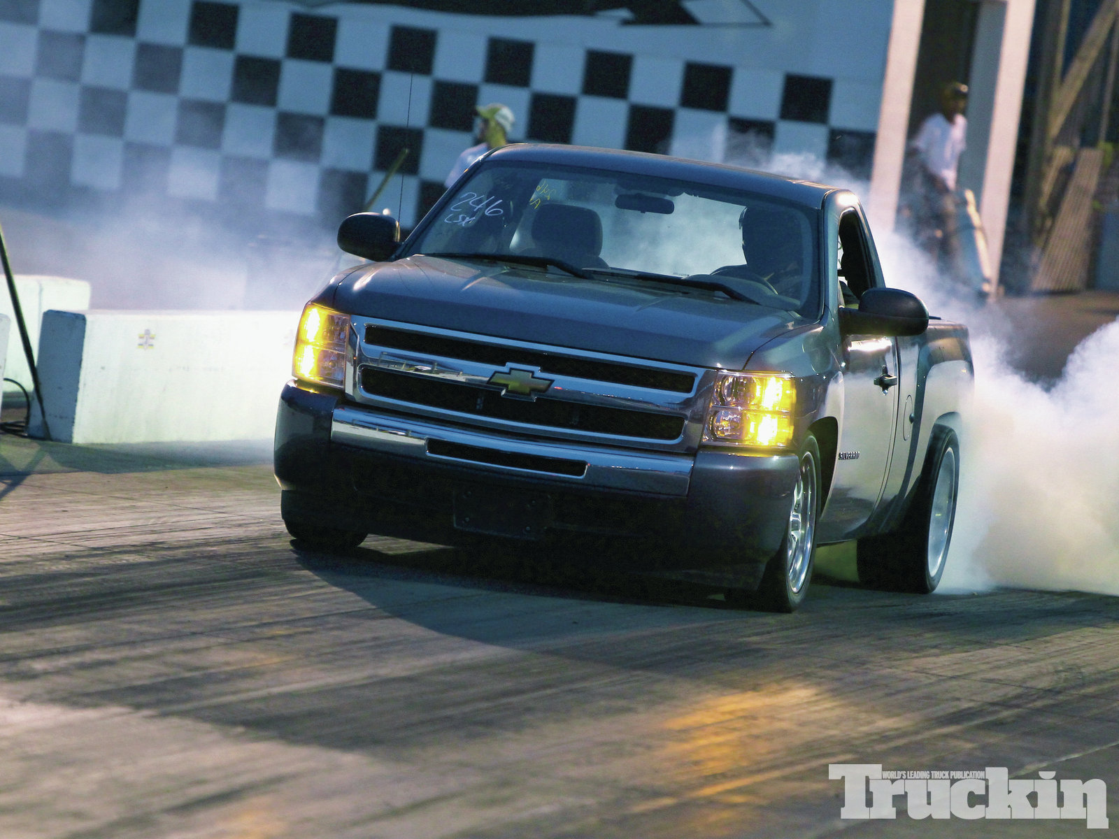 throwdown Holley Ls Fest 2012 Results 2011 Chevrolet Silverado Competeing