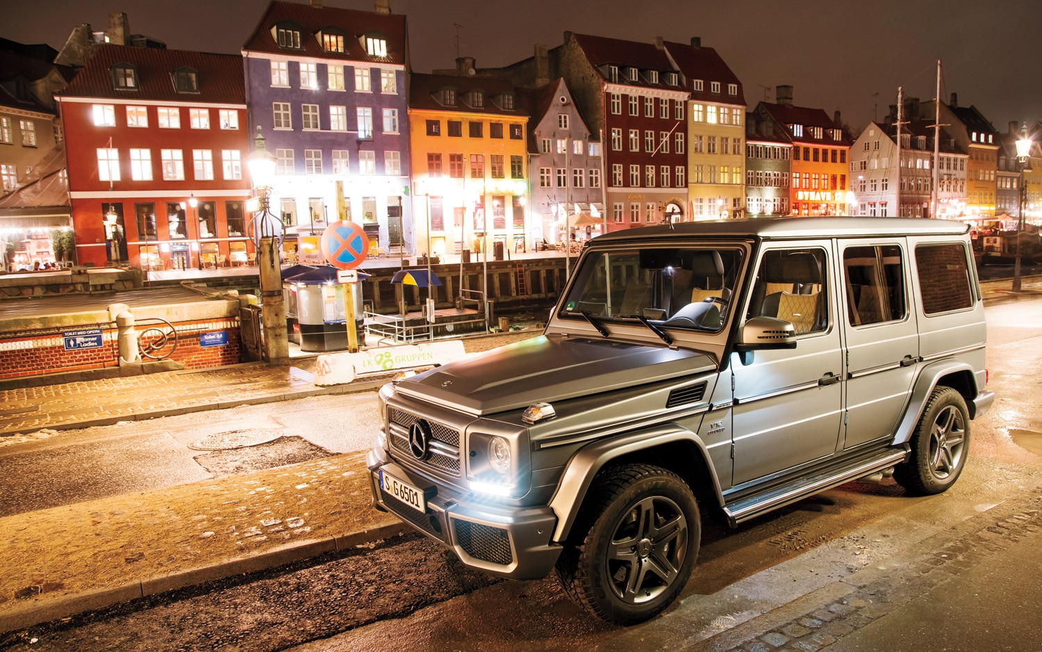2013 Mercedes Benz G65 AMG Front Three Quarters