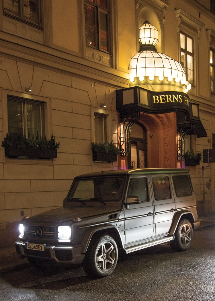 2013 Mercedes Benz G65 AMG Berns Hotel