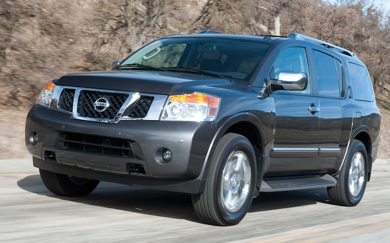 2012 Nissan Armada Platinum 4WD First Test