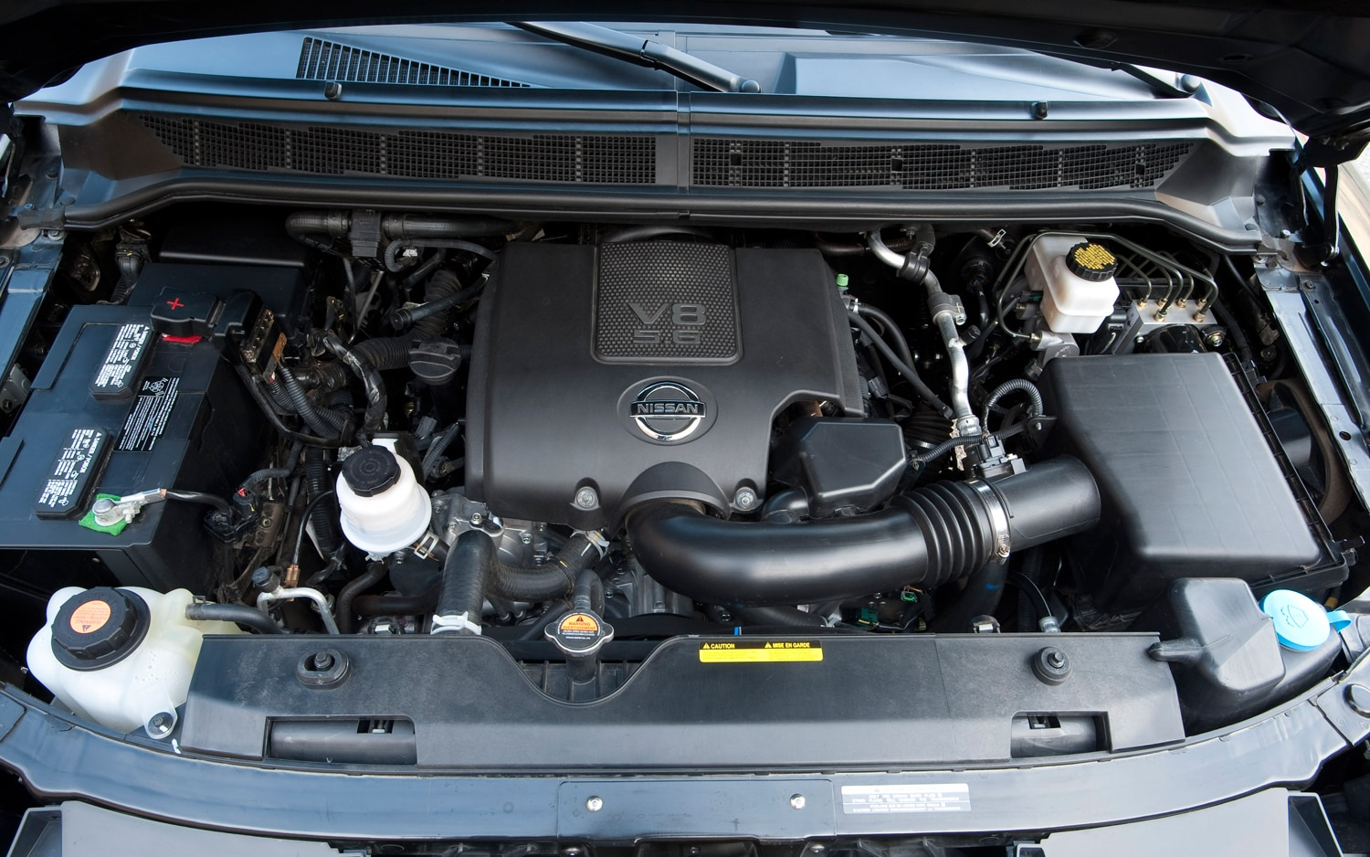 2012 Nissan Armada Engine