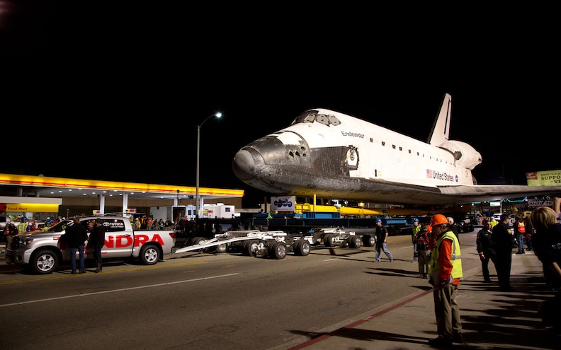 How a 2012 Toyota Tundra Towed the Space Shuttle Endeavour