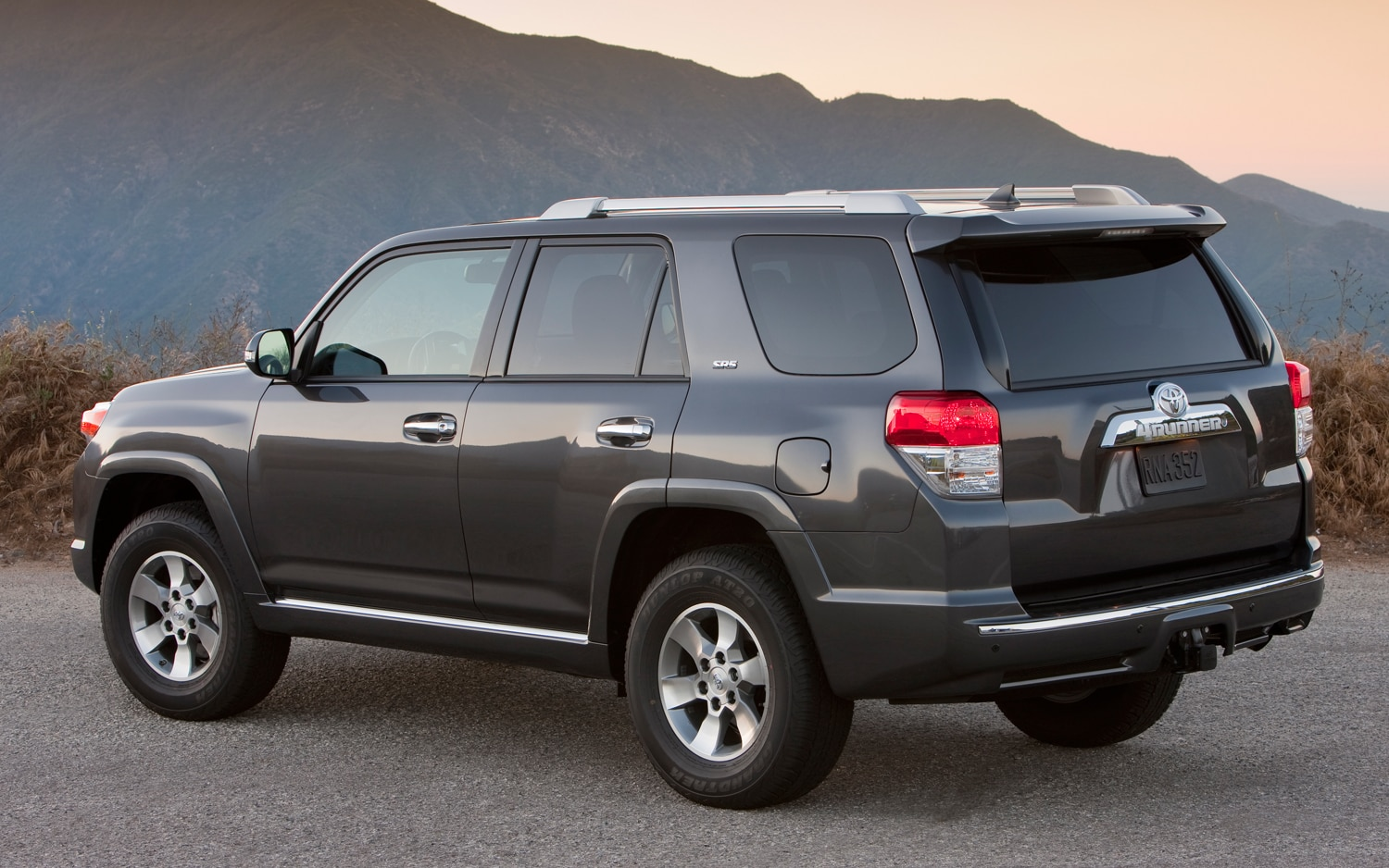 2013 Toyota 4Runner Rear