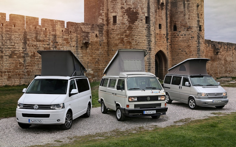 Volkswagen Celebrates 25 Years, 100,000 Units of the California Camper