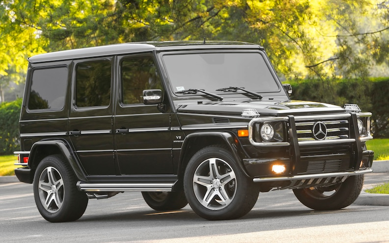 Pre-owned: 2002-2009 Mercedes-Benz G-Class