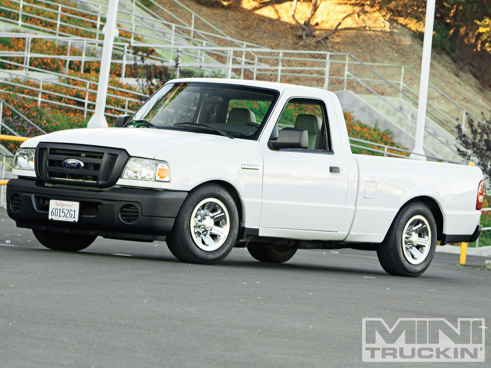 2009 Ford Ranger - Flattened Ford