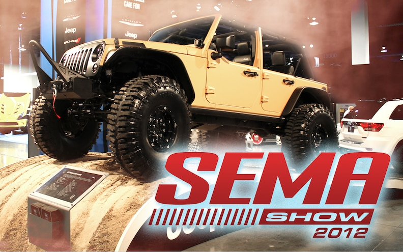 2012 SEMA Show: Jeeps, Rams, and Every Thing Mopar